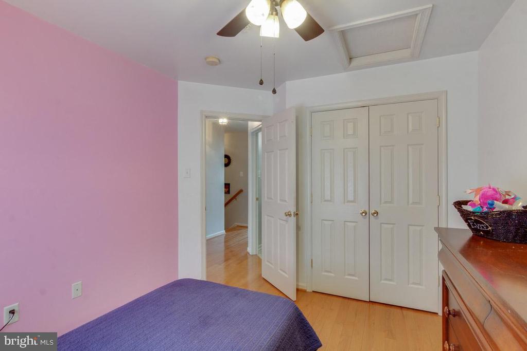 Double closet in this Bedroom #2 - 111 SENTRY RDG, SMITHSBURG