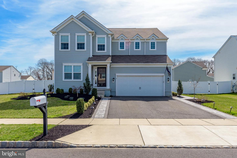 Maison unifamiliale pour l Vente à 3 TETKOSKI Court Florence, New Jersey 08518 États-Unis