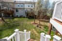 Steps from deck to back grassed area - 111 SENTRY RDG, SMITHSBURG