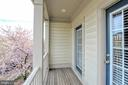 Balcony with terrific view - 20413 BOWFONDS ST, ASHBURN