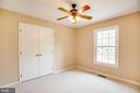 Each bedroom has a large closet. - 2015 MERRYMOUNT DR, FREDERICKSBURG