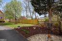 LANDSCAPING WITH  FLOWER BEDS, - 2017 WOODFORD RD, VIENNA