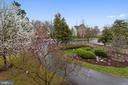 GRAND VIEW FROM UPPER LEVEL  BEDROOM - 2017 WOODFORD RD, VIENNA