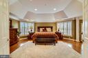 ENTER THE MASTER BEDROOM WITH ALL ITS UPGRADES - 2017 WOODFORD RD, VIENNA