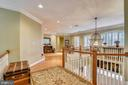 UPPER LEVEL VIEW - 2017 WOODFORD RD, VIENNA