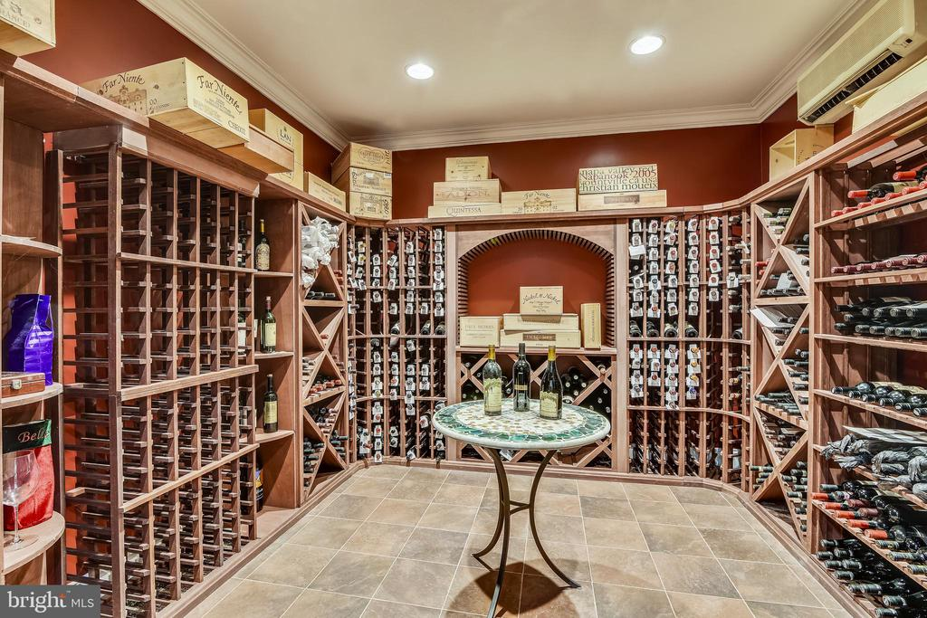 HUMIDTY CONTROLLED WINE CELLAR - 2017 WOODFORD RD, VIENNA