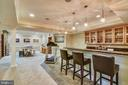 WET BAR ACROSS FROM RECREATION ROOM - 2017 WOODFORD RD, VIENNA