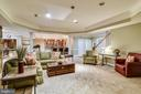 RECREATION ROOM/2ND FAMILY ROOM - 2017 WOODFORD RD, VIENNA