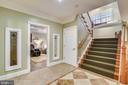 WALK DOWN TO LOWER LEVEL - 2017 WOODFORD RD, VIENNA