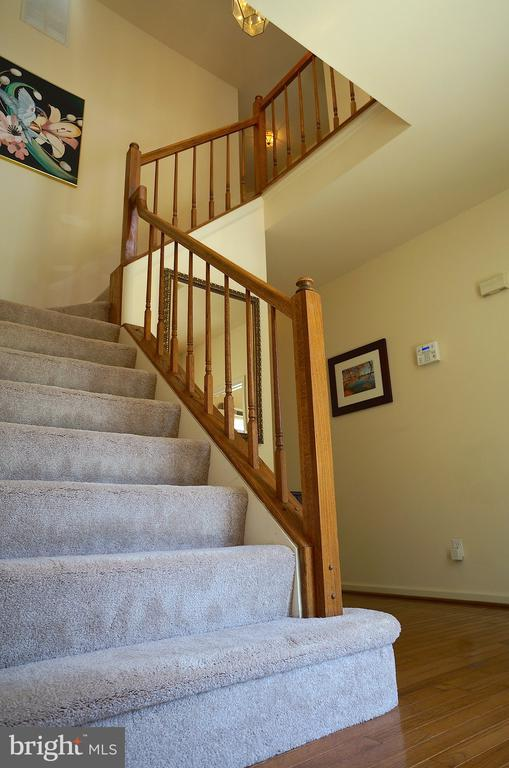 Open Staircase to Upper Level - 11 WESTBROOK LN, STAFFORD