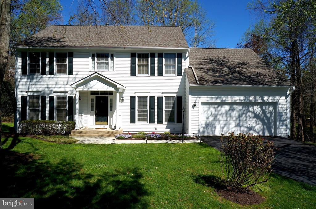 Front Exterior with Recently Painted Exterior Trim - 11 WESTBROOK LN, STAFFORD
