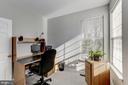 Main floor office space with bright corner windows - 42848 CROWFOOT CT, ASHBURN