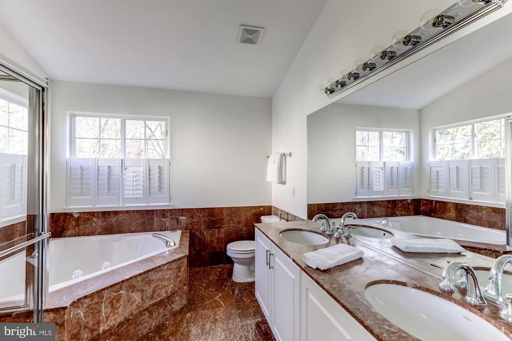 Master bathroom - 42848 CROWFOOT CT, ASHBURN