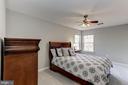 Bedroom 1 with walk-in closet - 42848 CROWFOOT CT, ASHBURN