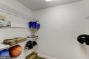 Storage closet - 42848 CROWFOOT CT, ASHBURN