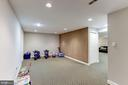 Great play space / game room - 42848 CROWFOOT CT, ASHBURN