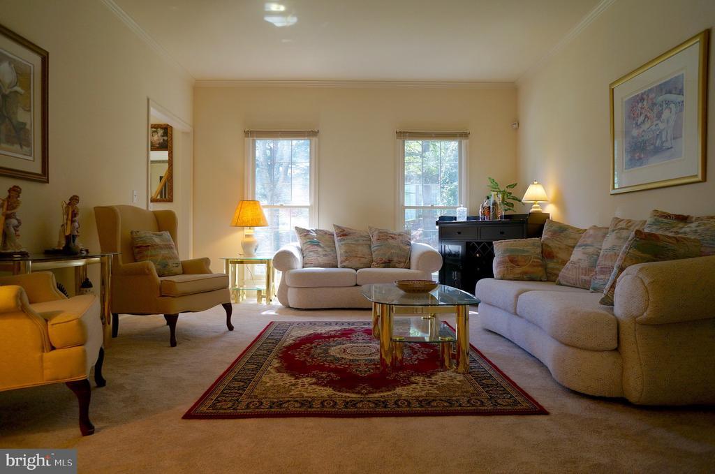 Living Room (17'x14') - 11 WESTBROOK LN, STAFFORD
