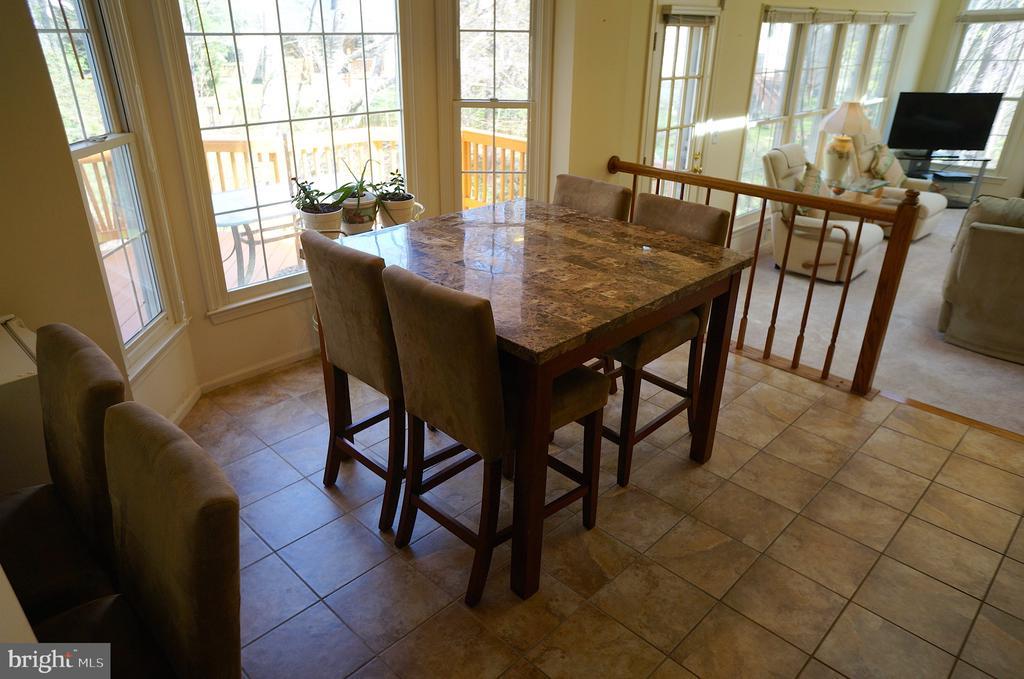 Breakfast Room with Ceramic Tile Flooring - 11 WESTBROOK LN, STAFFORD