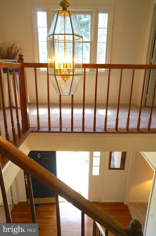 Open Staircase to Upper Leverl - 11 WESTBROOK LN, STAFFORD