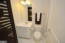 Full Bathroom on Lower Level - 25035 AVONLEA DR, CHANTILLY