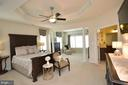 Great Size Master Bedroom - 25035 AVONLEA DR, CHANTILLY