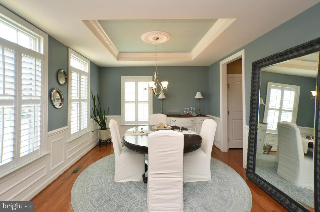 Formal Dining Room - 25035 AVONLEA DR, CHANTILLY