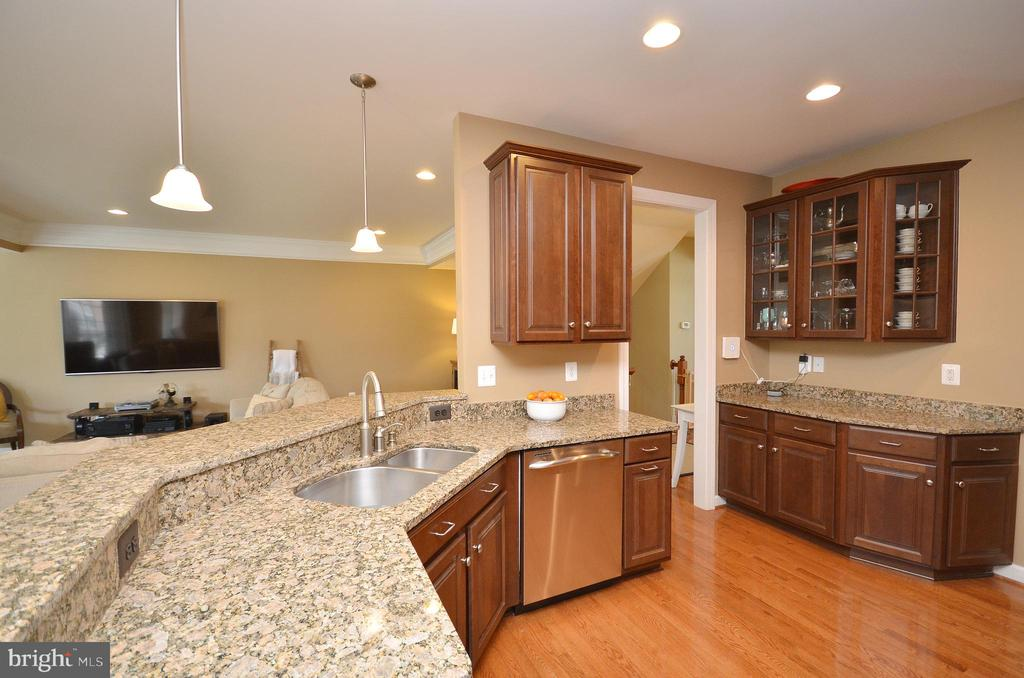 Breakfast Bar - 25035 AVONLEA DR, CHANTILLY