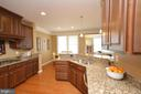 Gourmet Kitchen w/ Granite Counters - 25035 AVONLEA DR, CHANTILLY