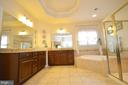 Separate Vanities and Ceramic Tile - 25035 AVONLEA DR, CHANTILLY