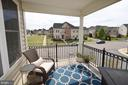 Lovely Covered Balcony off the Family Room - 25035 AVONLEA DR, CHANTILLY