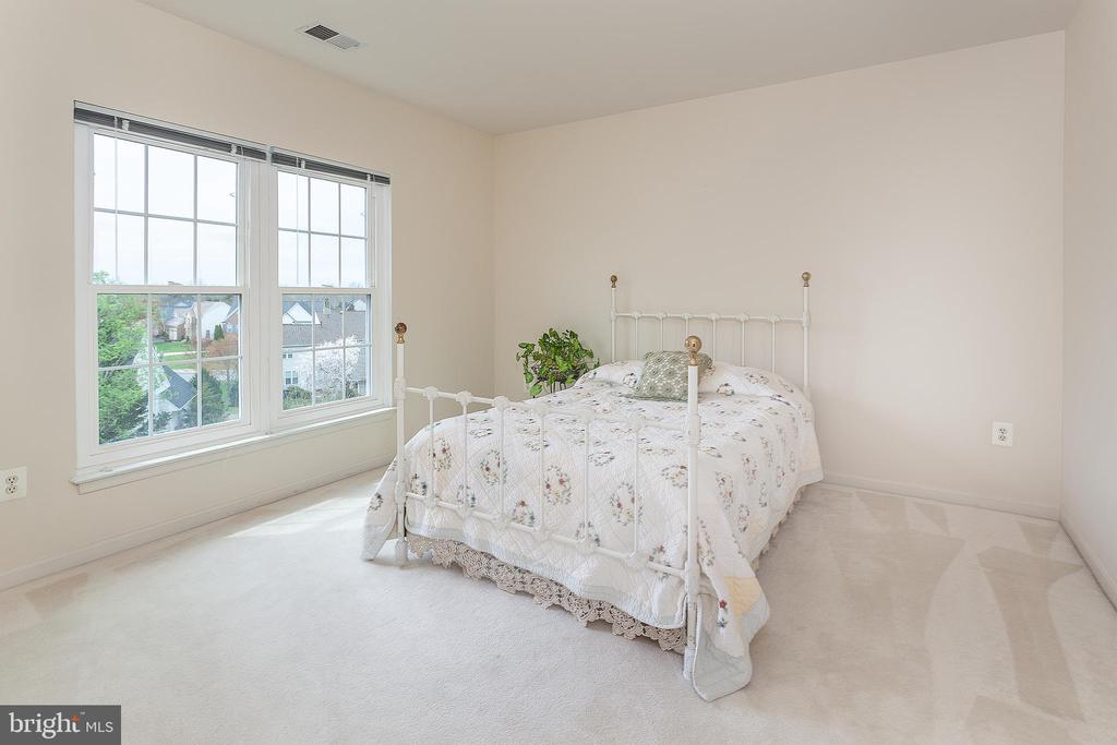 Bedroom 4  - all rooms are light filled! - 20377 WATER VALLEY CT, STERLING