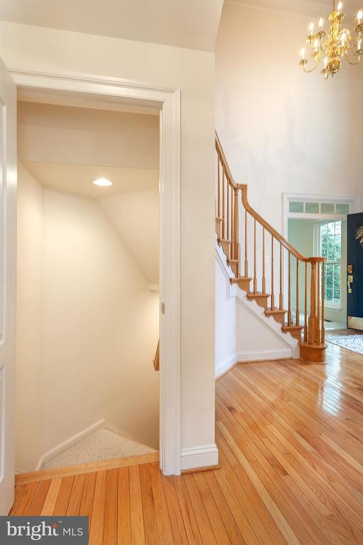 Entry to basement! - 20377 WATER VALLEY CT, STERLING