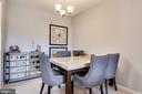 Dining Room - 20281 BEECHWOOD TER #302, ASHBURN