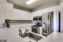 Nice Galley Kitchen - 20281 BEECHWOOD TER #302, ASHBURN