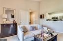 Living Room - 20281 BEECHWOOD TER #302, ASHBURN