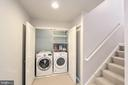 Laundry on bedroom level - 20413 BOWFONDS ST, ASHBURN