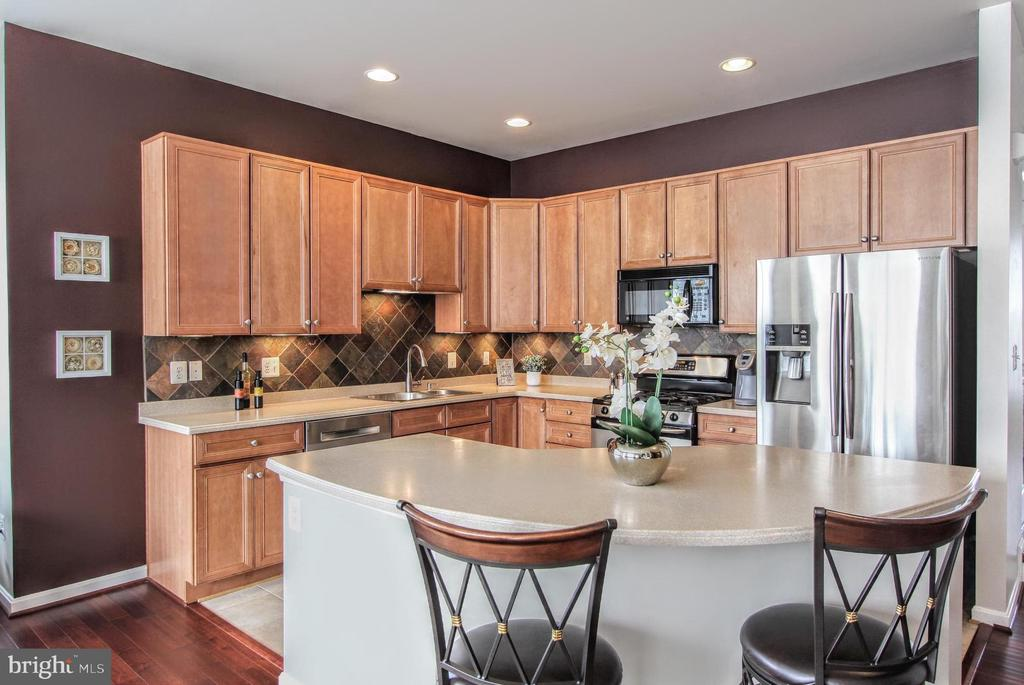 Gourmet kitchen - 20413 BOWFONDS ST, ASHBURN