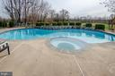 View from the Pool is your fields - 14974 MERRITT FARM LN, LEESBURG