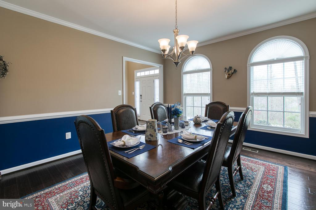 Formal dining room - 145 DONOVAN LN, STAFFORD
