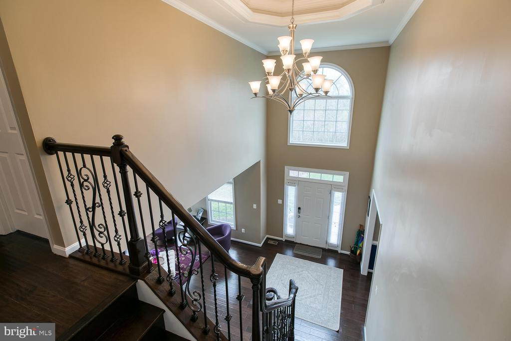 Entry way from 2nd floor - 145 DONOVAN LN, STAFFORD