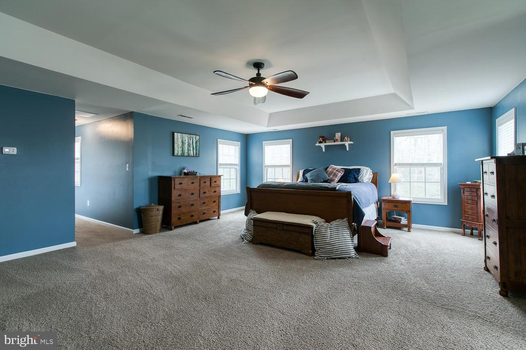 Spacious Master Bedroom - 145 DONOVAN LN, STAFFORD