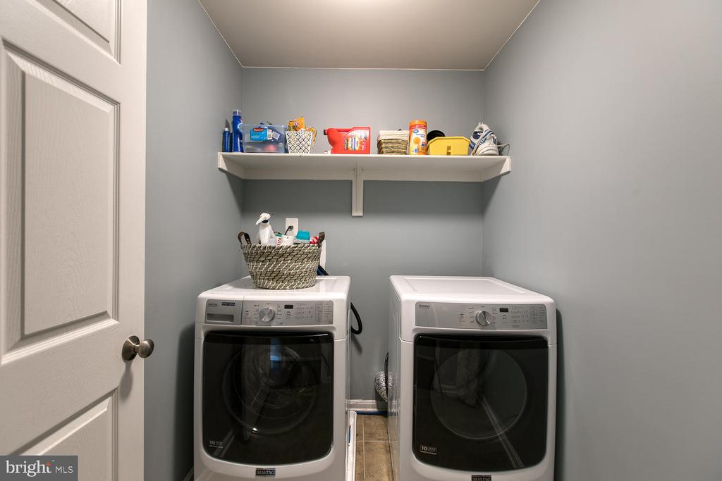 Laundry room on upper level!!! - 145 DONOVAN LN, STAFFORD
