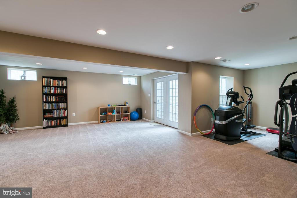 Basement game room - 145 DONOVAN LN, STAFFORD