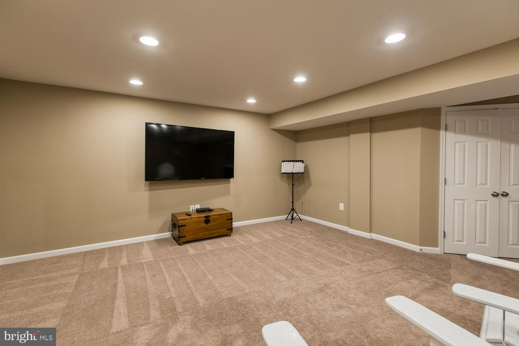 Spacious Media room - 145 DONOVAN LN, STAFFORD