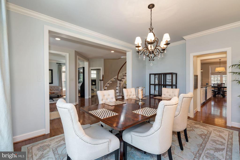 Dining room - 23013 OLYMPIA DR, ASHBURN