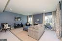 LL recreation room with gorgeous views of yard - 23013 OLYMPIA DR, ASHBURN