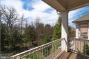 Master balcony - 23013 OLYMPIA DR, ASHBURN