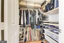 Master Bedroom walk-in closet - 1220 N FILLMORE ST #708, ARLINGTON