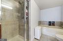 Master Bathroom with glass enclosed shower - 1220 N FILLMORE ST #708, ARLINGTON
