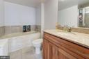 Master Bathroom with Soaking Tub - 1220 N FILLMORE ST #708, ARLINGTON